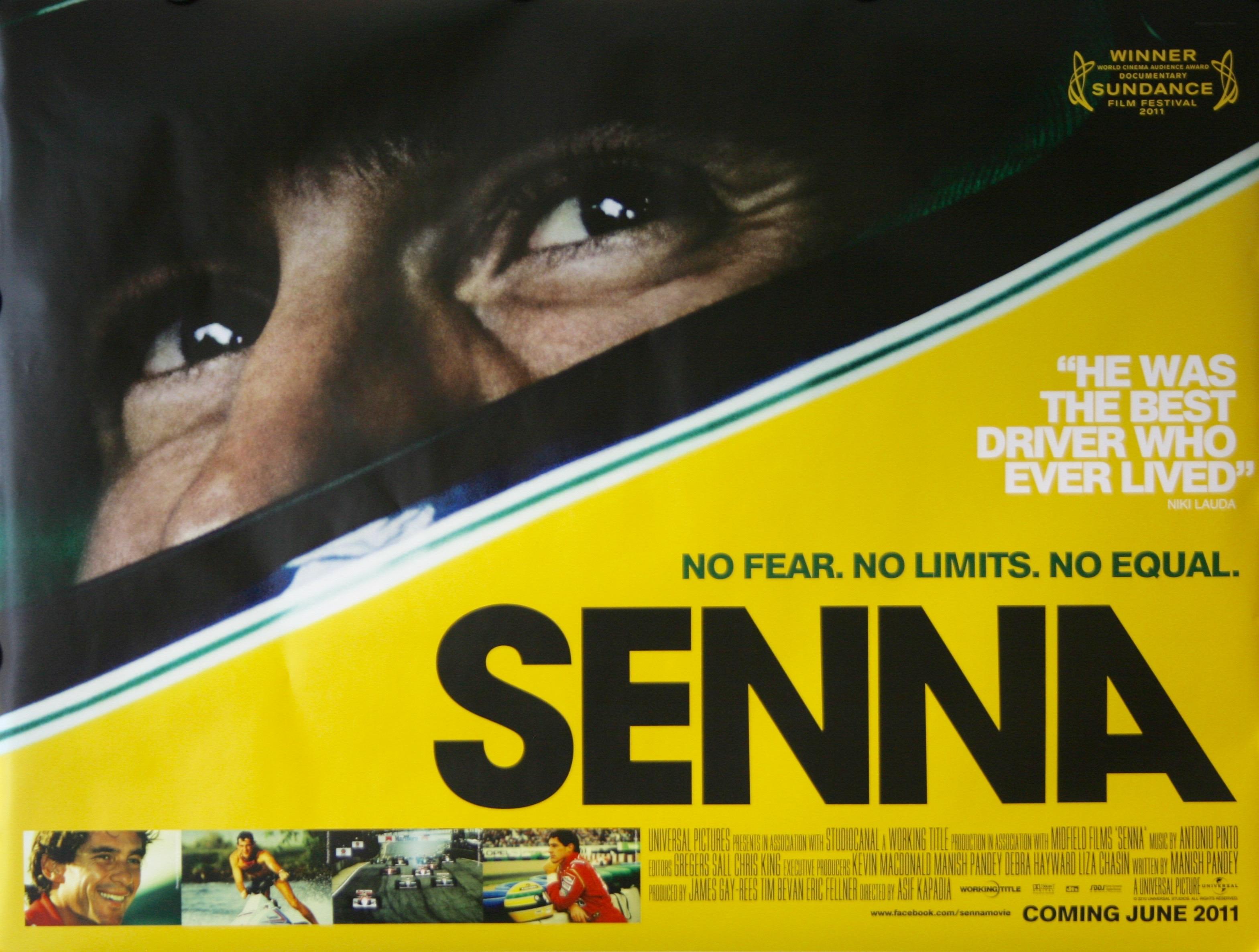 Filmes sobre liderança: documentário Senna é uma ótima opção