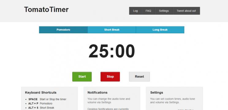 tomato timer para melhorar produtividade no trabalho